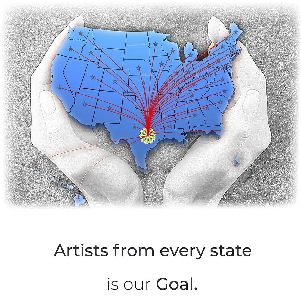 artist from every state our goal