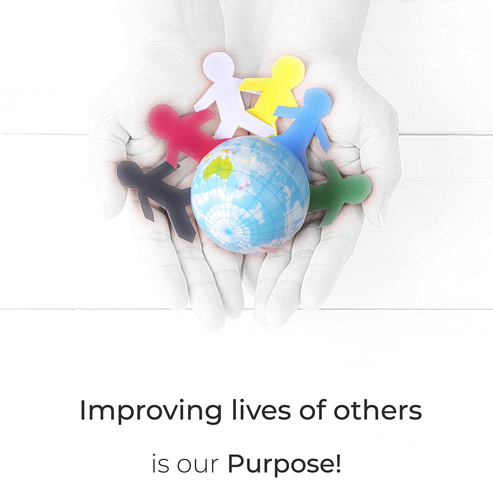 improving lives of others our purpose