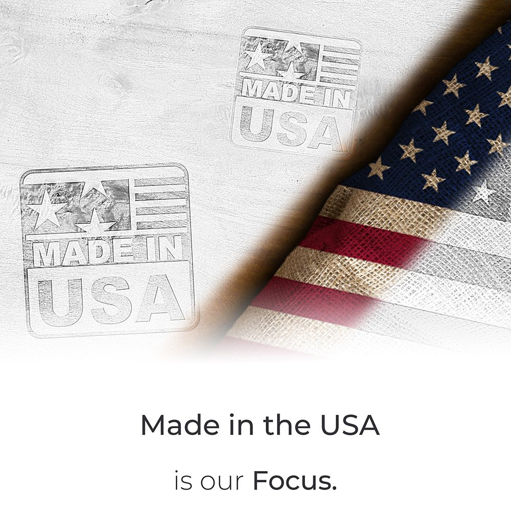 made in USA is our focus